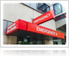 Hospital Exterior Sign